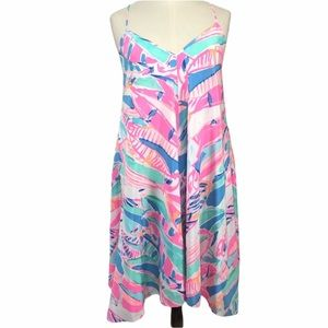 Lilly Pulitzer 100% silk dress
